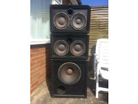 """Peavey Bass Cabs / Speakers, 2x10"""" and 1x15"""""""