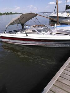 Bayliner 19.5 opendeck Ponte, remis a neuf