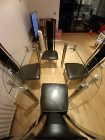 John Lewis Dining Table with 4 Chairs
