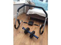 Abdominal workout equipment