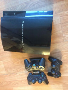 PS3 + 34 games + 3 controllers