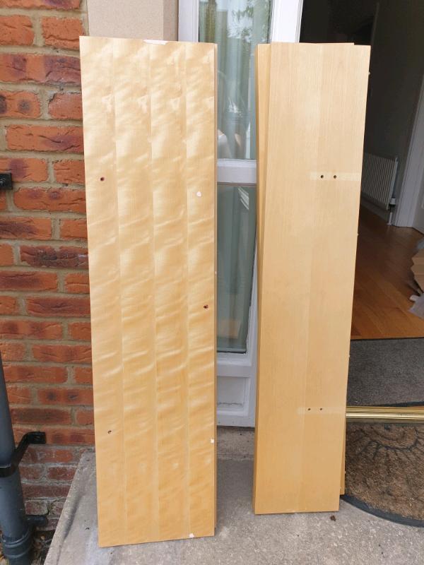 Free timber shelves