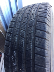 1x Hiver LT 265/70R17 10ply Michelin LTX Winter