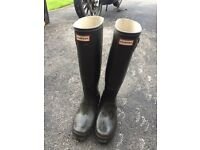 Hunter wellies size 6