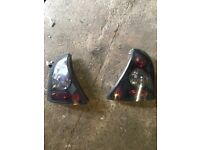 Clio tinted tail lights