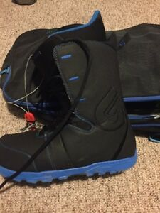 Burton boots and bindings.  Winters almost here.  Strathcona County Edmonton Area image 2