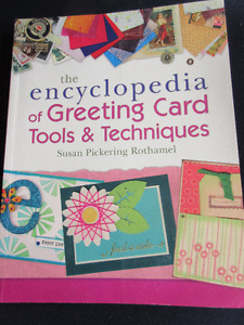 The Encyclopedia of Greeting Card Tools & Techniques  NEW