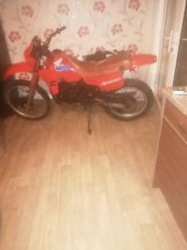 Honda Mtx 125 cc dirtbike.