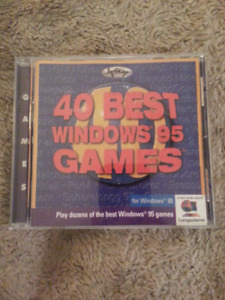 CD-ROM - 40 Best Windows 95 Games (Softkey)