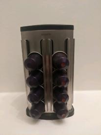 Brabantia Nespresso holder and 25 pods