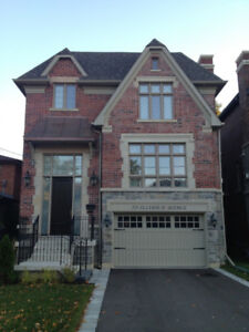 Luxury house for rent near North York Centre