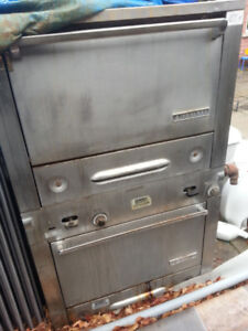 Garland Double Deck gas oven