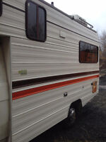 17' single motorhome