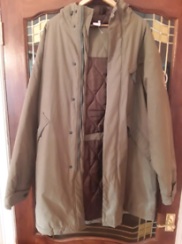 Great condition padded coat with hood