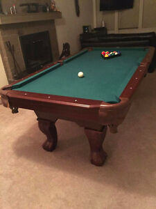 """84"""" Pool Table North Shore Greater Vancouver Area image 1"""