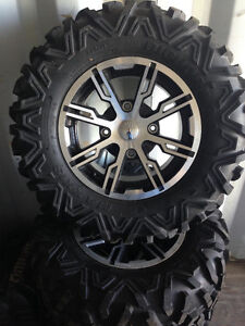 Can-Am Rims and Maxxis Bighorn 2.0 Tires