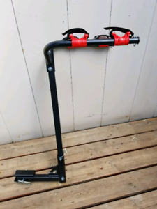 Hitch Style Bike Rack Holds 2 Bicycles