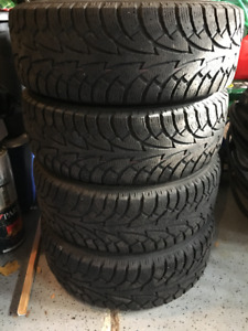 Excellent Condition Snow Tires(set of 4) with Rims