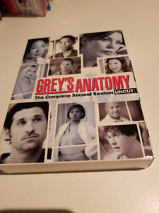 Grey's anatomy complete second season DVD