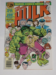 Marvel Comics Incredible Hulk#200 comic book