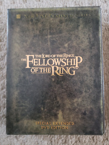 All 3 Lord of the Rings special extended DVD sets
