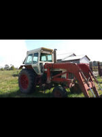 IH966 HYDRO WITH LOADER / READY TO WORK /