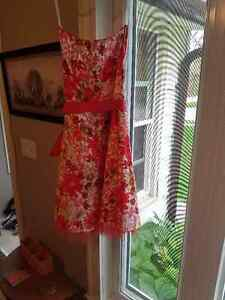 pink flowered summer dress Sarnia Sarnia Area image 2