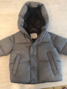 Boys winter coat from Zara size 6-9 months