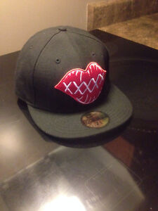 59FIFTY / New Era / black n red / super clean / new West Island Greater Montréal image 1