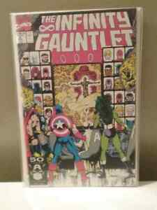 The Infinity Gauntlet #1-6 Marvel 1991 London Ontario image 2