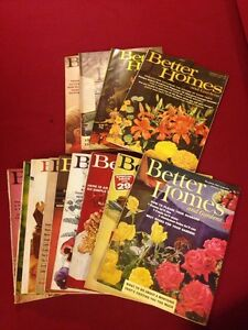 Vintage Magazines - Better Homes 60s - 70s