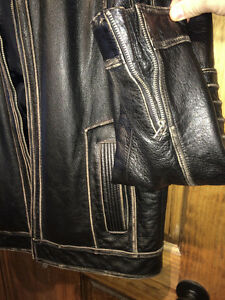 AFFLICTION LEATHER JACKET XL Gatineau Ottawa / Gatineau Area image 5