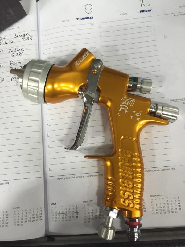 Devilbiss gti pro lite spray gun in Winsford Cheshire  : 86 from gumtree.com size 600 x 800 jpeg 57kB