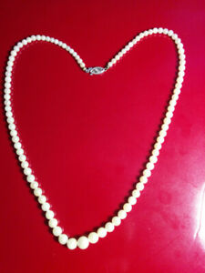 Genuine Pearl Necklace - lovely gift for your Classy Valentine
