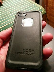 Black Lifeproof Case For IPHONE 5