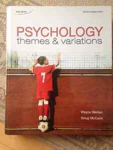Psychology themes and variations-2nd edition