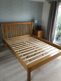 Marks & Spencer Hastings Double bed & John Lewis Mattress free deliver