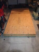 Plywood lumber 4x8x5/8 - 4 x 8 x 3/8 - 4x8x3/4 Sheets of plywood