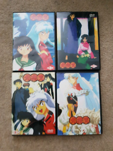 INUYASHA ANIME AND MOVIES DVDS
