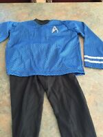 Kids 2 piece size medium Star Trek Halloween costume