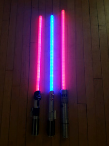 Star Wars Light Sabers take all 3 for $49