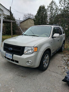 2008 Ford Escape Limited - Leather Seats - 3.0L - AWD