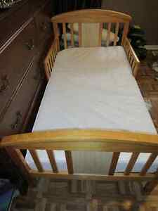 Tot's bed and mattress