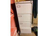Filing cabinet (garage or shed storage)