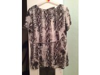 Matalan Top by Soon - Size 18 £3.00