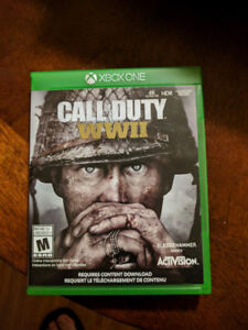 Excellent condition Call of Duty WWII for Xbox One