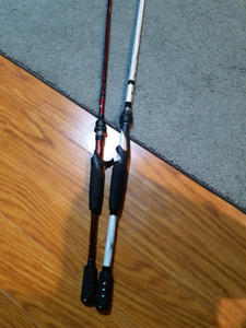 Two fishing rods for sale !