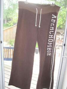 Vintage Abercrombie & Fitch Retro Old School Casual Sweat Pants