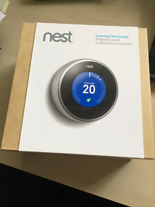 Brand New Nest Thermostat, Open Box