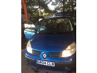 Renault grand scenic 1.5dci '55 plate 7 seater